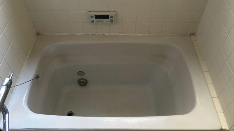 浴槽の塗装修理